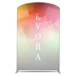"58"" Rise XL Double-Sided Fabric Banner Stand (Curve)"