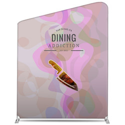 "78"" Rise XL Double-Sided Fabric Banner Stand (Slant)"