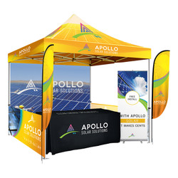 Boothfest Outdoor Trade Show Booth Package (A)
