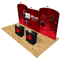Connect 20x10 Trade Show Booth Kit (D)