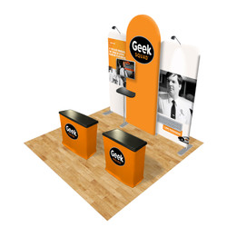 Connect 10x10 Trade Show Booth Kit (E)