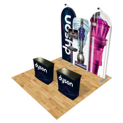 Connect 10x10 Trade Show Booth Kit (F)