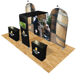 Connect 20x10 Trade Show Booth Kit (G)