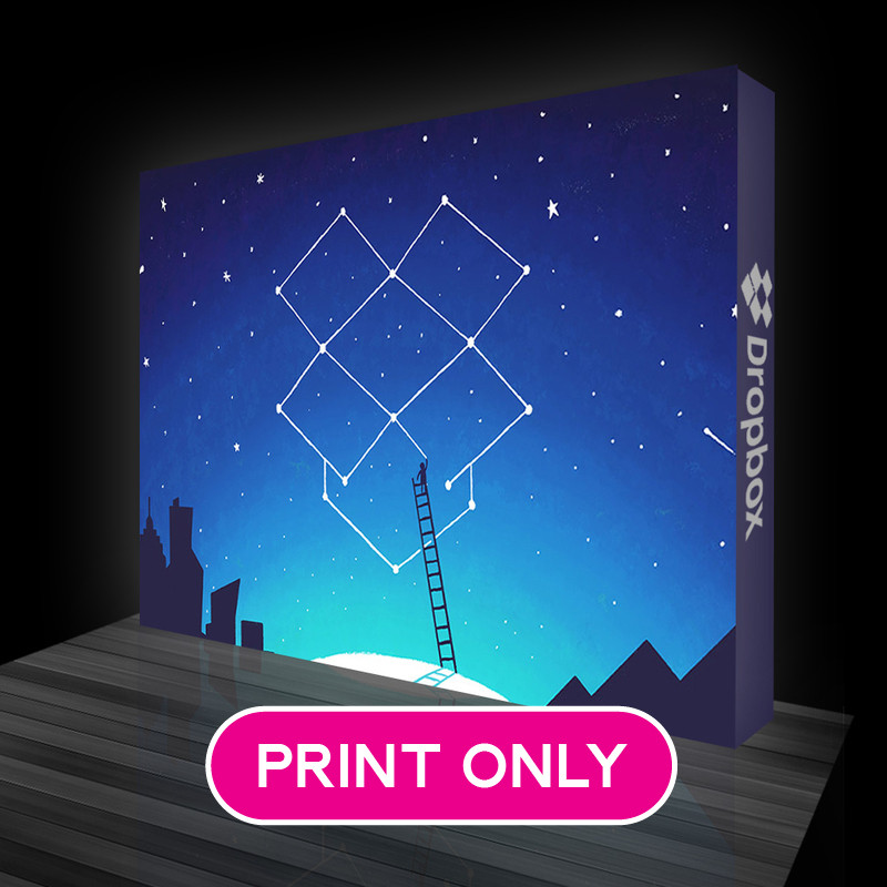 Luminous Backlit Replacement Prints for LB04 -  10ft x 7.5ft  - Optional Double Sided Graphics and Optional Endcaps Available