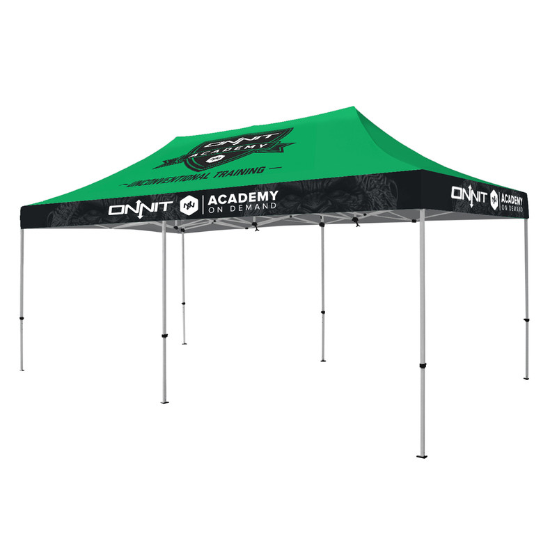 20ft  Best Custom Full Color Event Tents