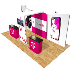 Connect 20x10 Trade Show Booth Kit (E)