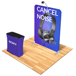 Rapid Trade Show Booth Display Package (B)