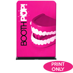 "60"" Rise Double-Sided Fabric Banner Stand Replacement Prints"