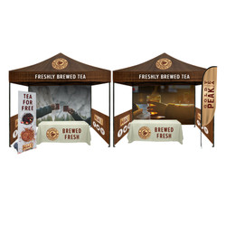 Boothfest Outdoor Trade Show Booth Package (C)