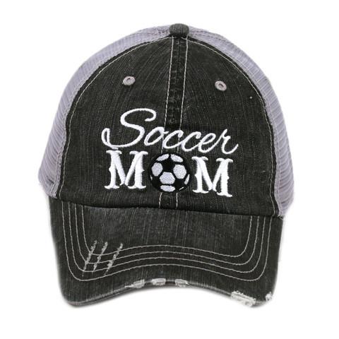 Soccer Mom (or Dad) Trucker Hat - Momma Can Do It e9da1ec9831