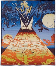 Full Moon Lodge Blanket - by Pendleton