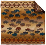 Prairie Rush Hour Throw Blanket - by Pendleton