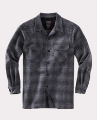 The Original Board Shirt-Tall Oxford Grey / Sage Ombre By Pendleton
