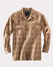 The Original Board Shirt-Tall, Watson Gold Ombre By Pendleton