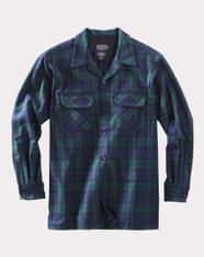 The Original Board Shirt-Regular Black Watch Tartan By Pendleton