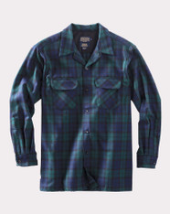 The Original Board Shirt-Tall Black Watch Tartan By Pendleton