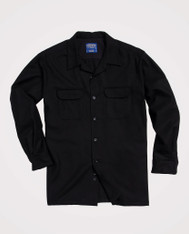 The Original Board Shirt-Tall Black By Pendleton