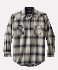 Canyon Shirt Regular Black Tan Ombre