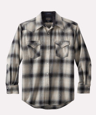 Canyon Shirt Tall Black Tan Ombre
