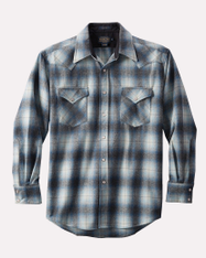 Canyon Shirt Regular Blue Grey Mix Ombre
