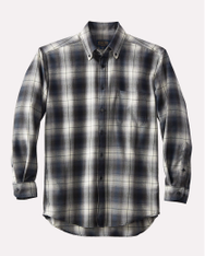 Sir Pendleton- Slate Black Ombre Shirt by Pendlton