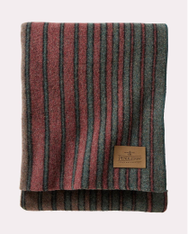Hemrich Stripe Yakima Camp Throw Blanket by Pendleton