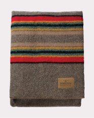 Mineral Umber Yakima Camp Throw Blanket by Pendleton