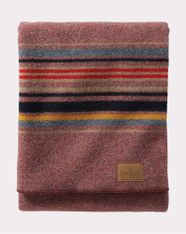 Red Mountain Yakima Camp Throw Blanket by Pendleton