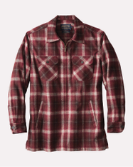 Maroon Ombre Brightwood Zip Jacket by Pendleton
