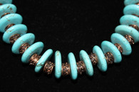 Turquoise Copper Necklace