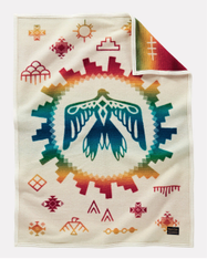 Sunrise Eagle Muchacho Blanket