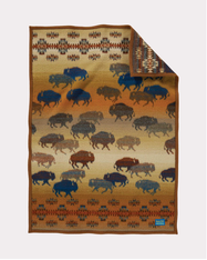 Prairie Rush Hour Muchacho Blanket by Pendleton
