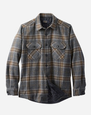 Oxford Mix Plaid Men's Quilted Jacket by Pendleton