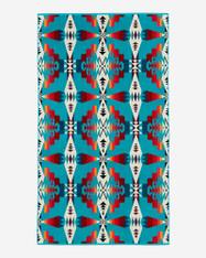 Tucson Turquoise Spa Towel