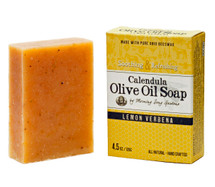Calendula Olive Oil Soap, Lemon Verbena  (4.5 oz.)