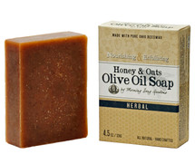 Honey & Oats Olive Oil Soap, Herbal (4.5 oz.)