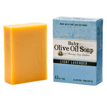 Baby Olive Oil Soap, Light Lavender  (4.5 oz.)