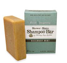 Rosemary Mint- Shower, Shave & Shampoo Bar (4.5 oz.)
