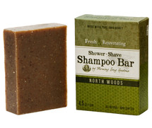 North Woods - Shower, Shave & Shampoo Bar (4.5 oz.)