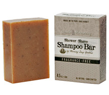 Fragrance Free - Shower, Shave & Shampoo Bar (4.5 oz.)