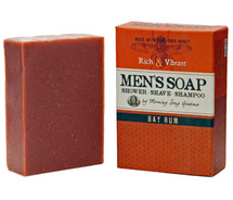 MEN's - Bay Rum Shower Shave & Shampoo Bar (4.5 oz.)