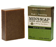 MEN's - North Woods Shower, Shave & Shampoo Bar (4.5 oz.)