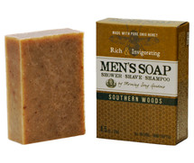 MEN's - Southern Woods Shower Shave & Shampoo Bar (4.5 oz.)