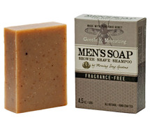MEN's - Fragrance Free Shower Shave & Shampoo Bar (4.5 oz.)