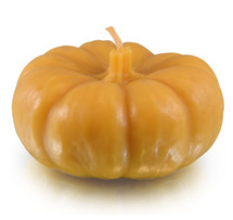Pumkin, Wide Large Beeswax Candle