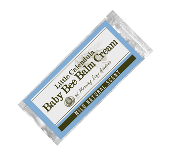 "Sample- Baby Bee Balm Cream ""Little Calendula"" (.15 oz.)"