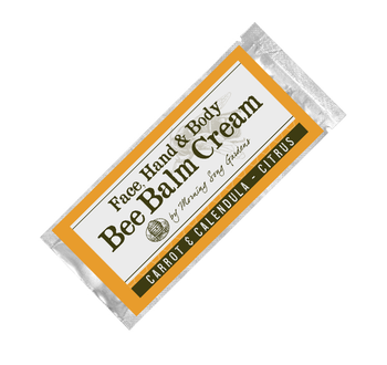 Sample- Bee Balm Cream - Carrot & Calendula - Citrus (.15 oz)