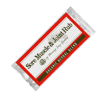 Sample- Sore Muscle & Joint Rub (.15 oz)