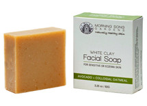 White Clay Facial Soap - for normal/ sensitive skin (3.25 oz.)