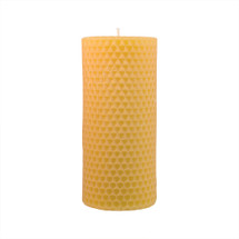 Honey Comb Pillar Beeswax Candle